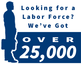 Workforce of over 25,000